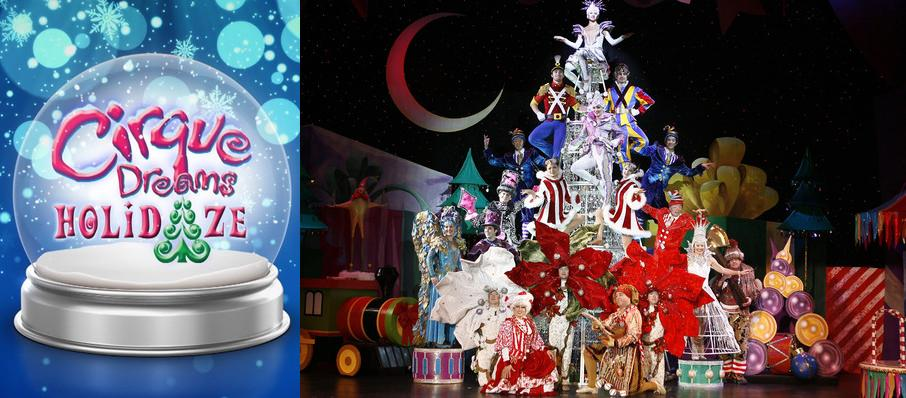 Cirque Dreams Holidaze at Fabulous Fox Theatre