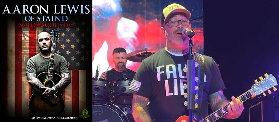 Aaron Lewis at River City Casino