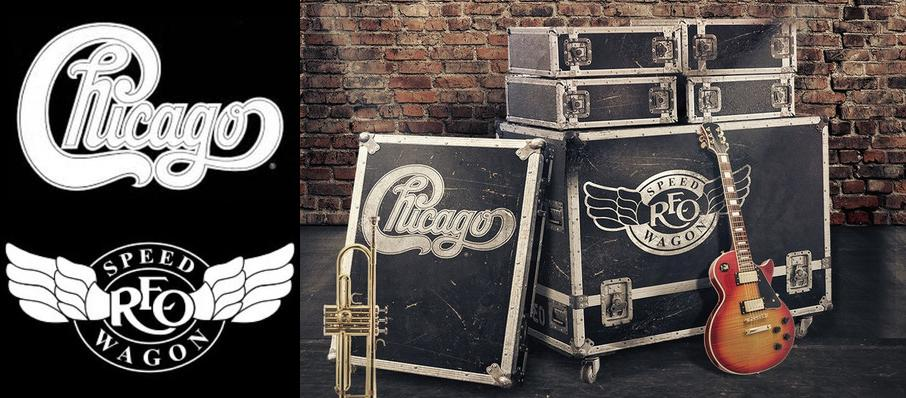 Chicago & REO Speedwagon at Hollywood Casino Amphitheatre