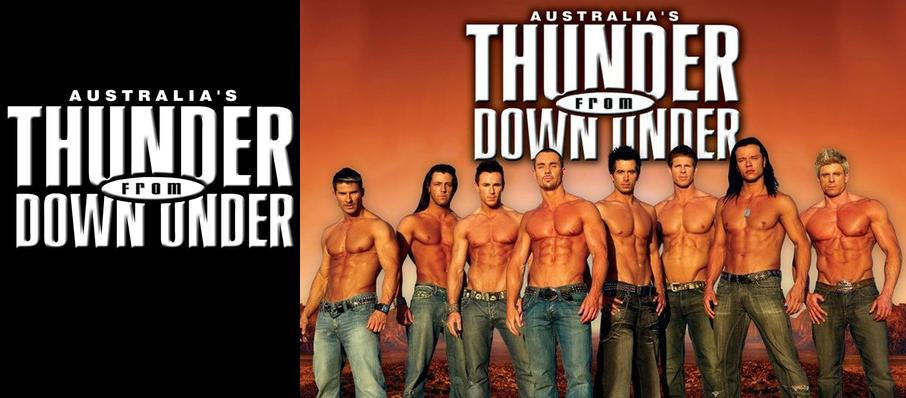 Thunder From Down Under at River City Casino