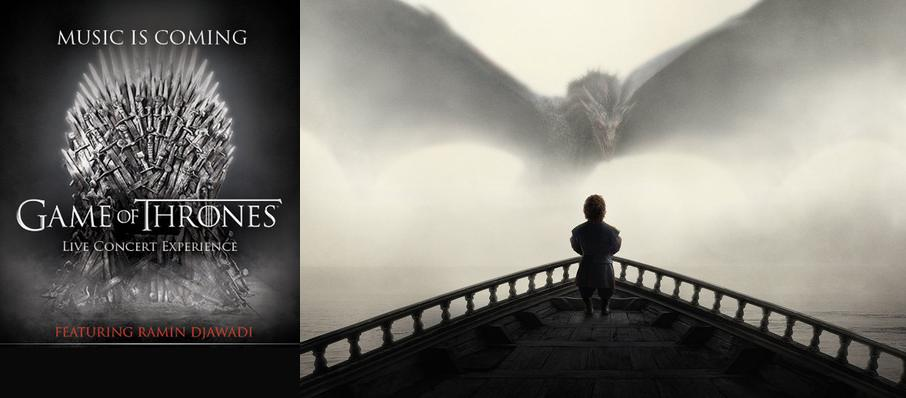 Game of Thrones Live Concert Experience: Ramin Djawadi at Scottrade Center