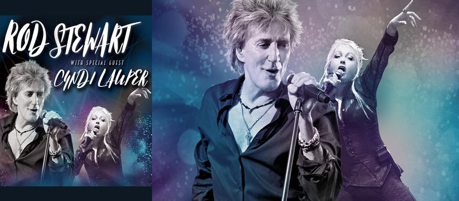 Rod Stewart and Cyndi Lauper at Hollywood Casino Amphitheatre