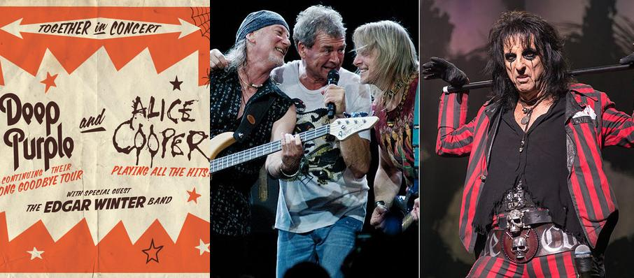 Deep Purple and Alice Cooper at Hollywood Casino Amphitheatre