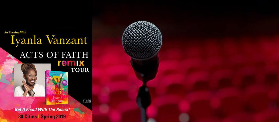 Iyanla Vanzant at Touhill Performing Arts Center