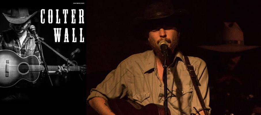 Colter Wall at The Ready Room St. Louis
