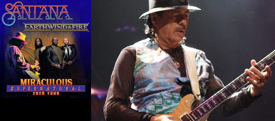 Santana with Earth Wind and Fire at Hollywood Casino Amphitheatre