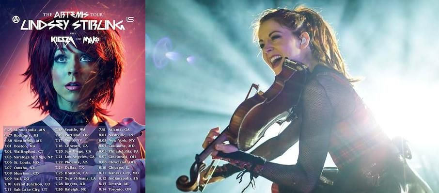 Lindsey Stirling at Saint Louis Music Park