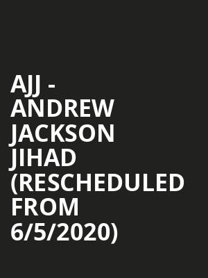 AJJ - Andrew Jackson Jihad (Rescheduled from 6/5/2020) at The Ready Room St. Louis