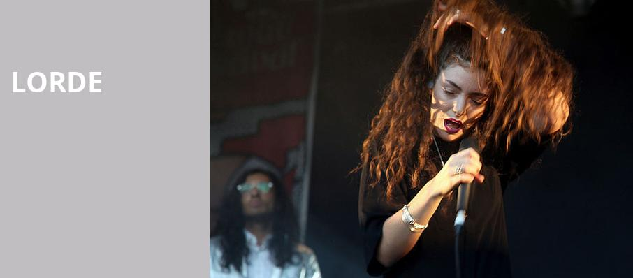 Lorde, Chaifetz Arena, St. Louis