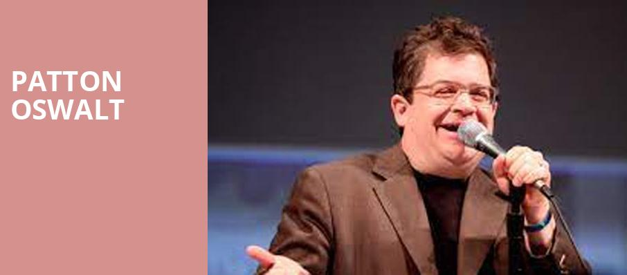 Patton Oswalt, Family Arena, St. Louis