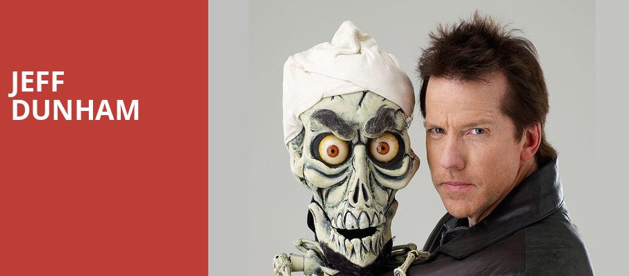 Jeff Dunham, Scottrade Center, St. Louis