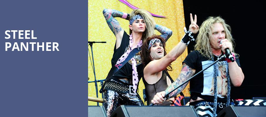 Steel Panther, The Pageant, St. Louis