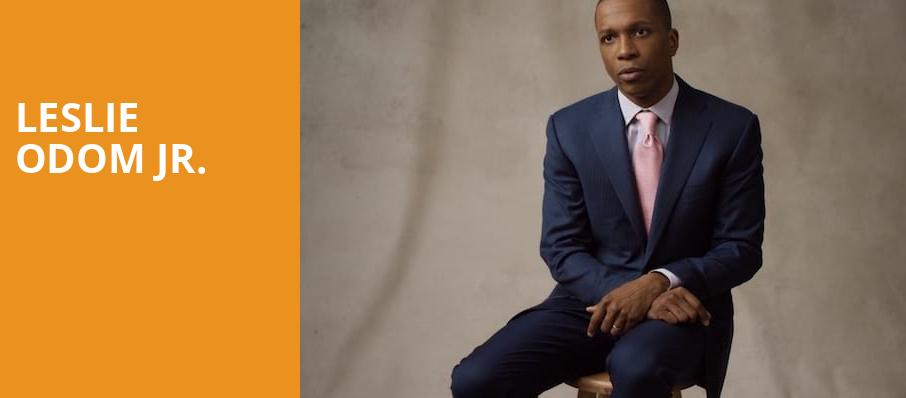 Leslie Odom Jr, Powell Symphony Hall, St. Louis