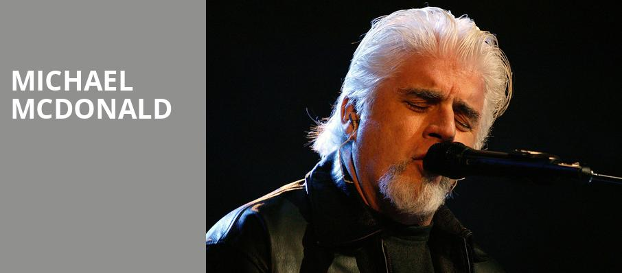 Michael McDonald, Touhill Performing Arts Center, St. Louis