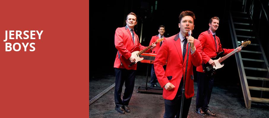 Jersey Boys, Fabulous Fox Theatre, St. Louis