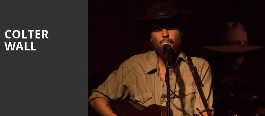 Colter Wall, The Ready Room St Louis, St. Louis