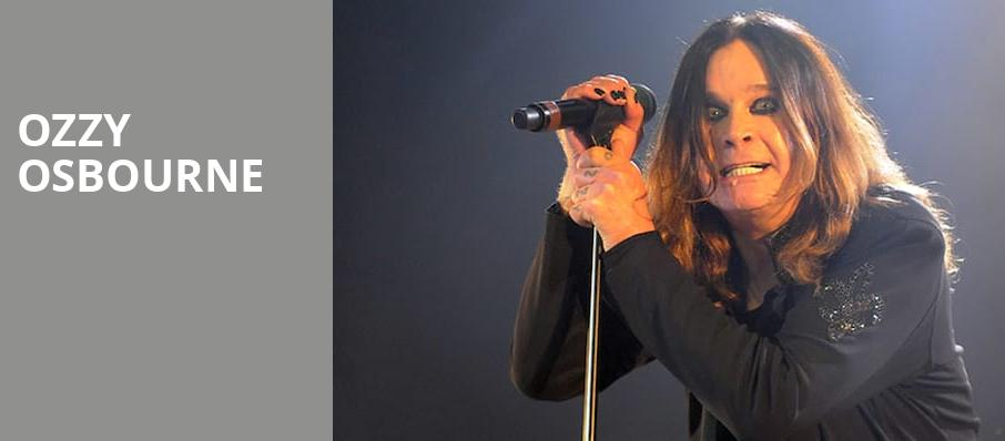 Ozzy Osbourne, Hollywood Casino Amphitheatre, St. Louis