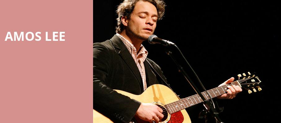 Amos Lee, The Pageant, St. Louis