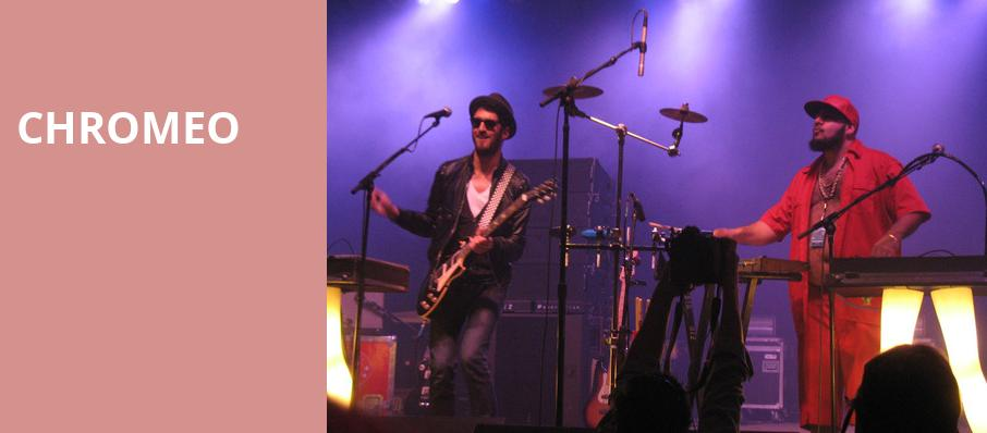 Chromeo, The Pageant, St. Louis