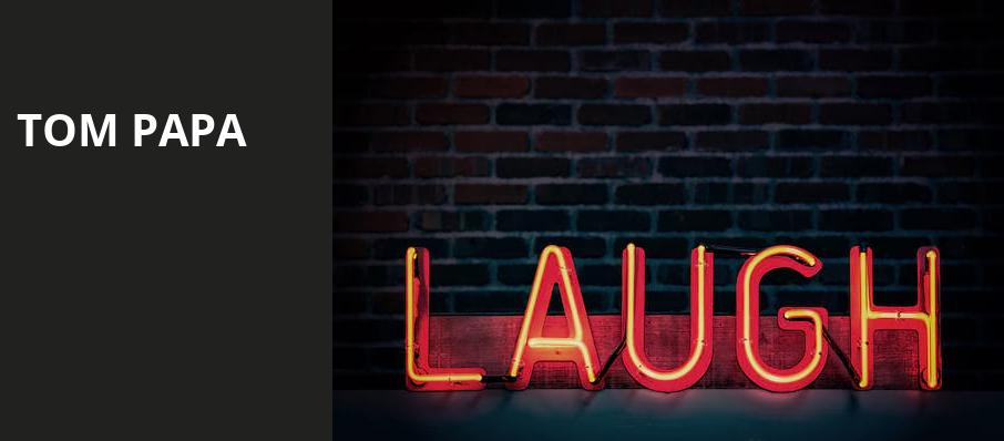 Tom Papa, Sheldon Concert Hall, St. Louis