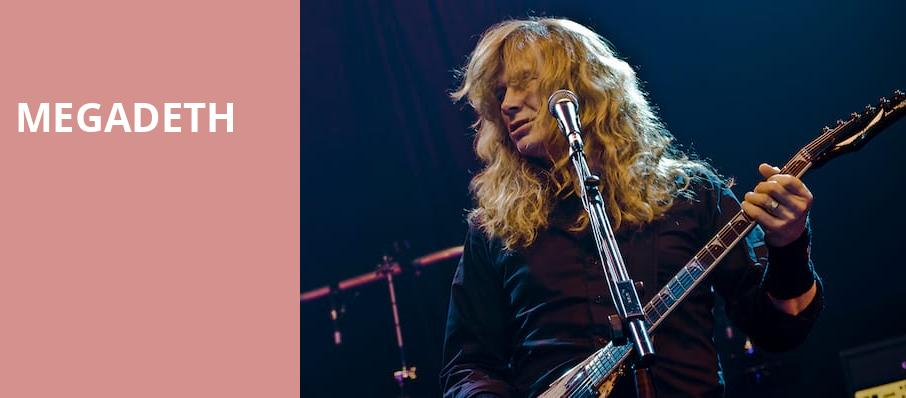 Megadeth, Hollywood Casino Amphitheatre, St. Louis
