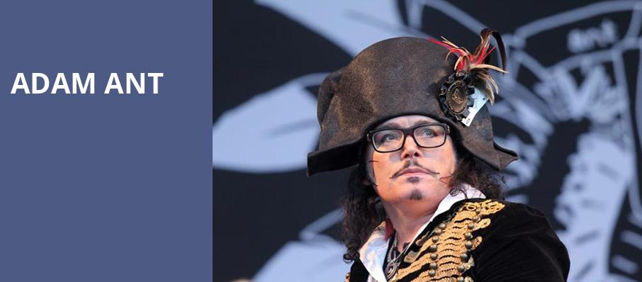 Adam Ant, The Pageant, St. Louis